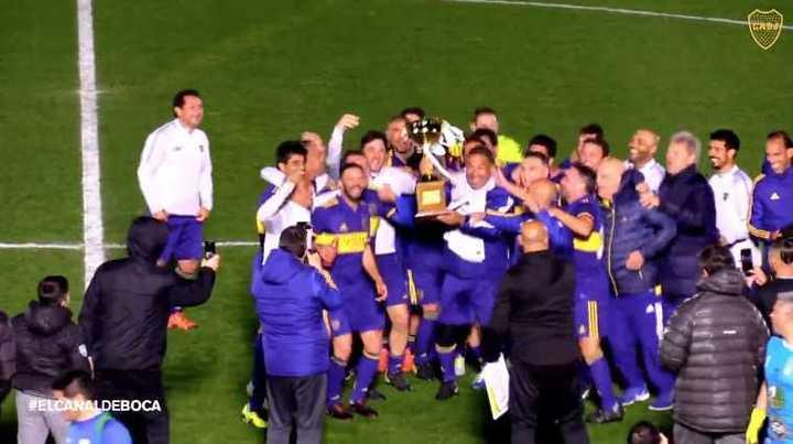 Boca salió campeón del Senior