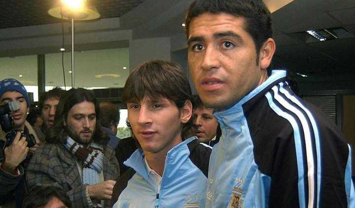 La opinión de Messi sobre la despedida de Riquelme