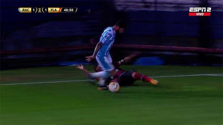 El gol anulado a López y sus repes