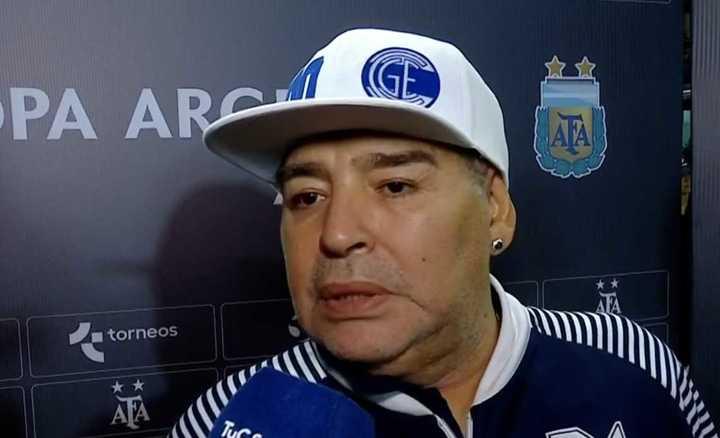 Las palabras de Maradona luego del triunfo