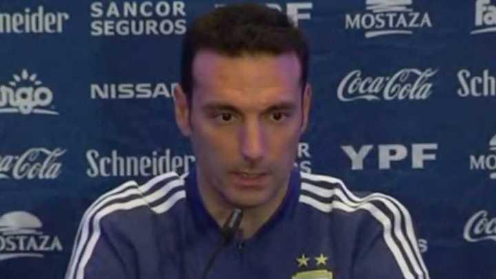 """""""Messi y Agüero van a jugar ante Uruguay"""""""