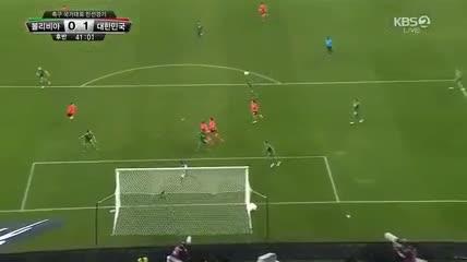El gol del triunfo de Lee ante Bolivia