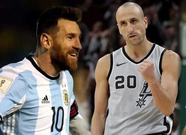 Messi habló de Ginóbili