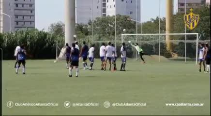 El golazo de Sebastián Riquelme en el amistoso entre Atlanta y Midland