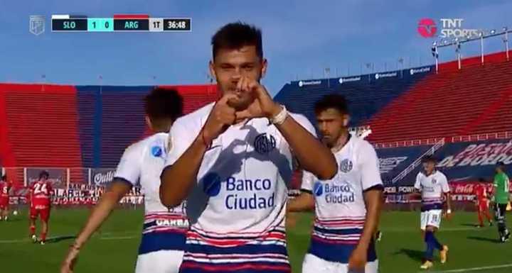 Ángel Romero marcó para San Lorenzo