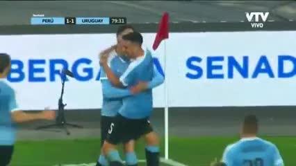 El empate de Uruguay ante Perú