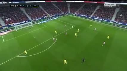 El gol de Ángel Correa ante Villarreal