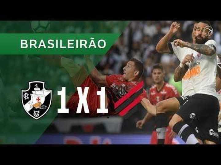 El empate entre Vasco y Paranaense