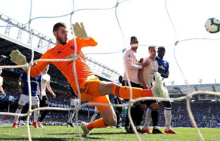 El resumen de Everton 4 - Manchester United 0
