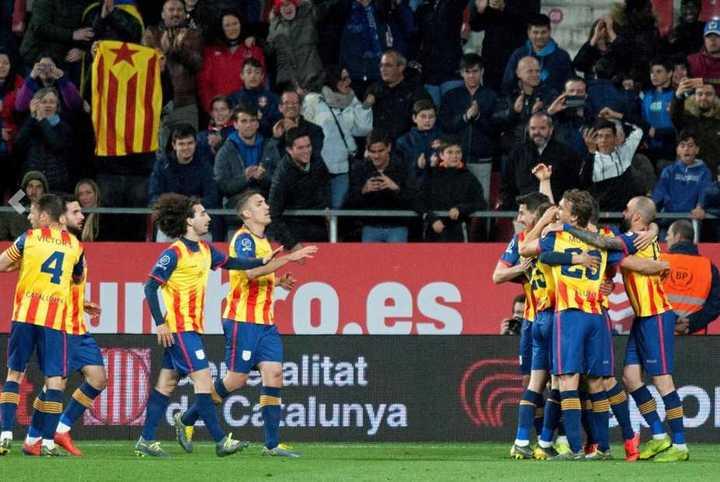Los goles de Cataluña 2 - Venezuela 1