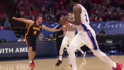 Las mejores 5 jugadas del domingo en la NBA