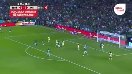 León 0 - 1 América, semifinal clausura mexicano