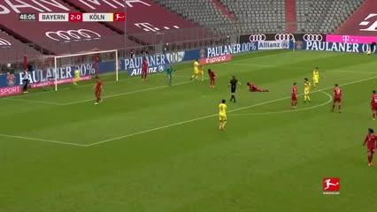 La goleada del Bayern Munich