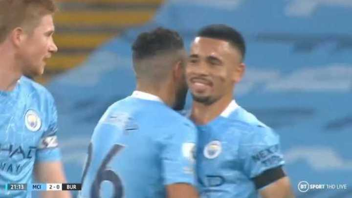 Los goles de Manchester City 5 - Burnley 0