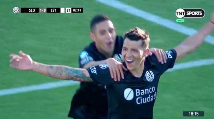 De penal Botta abrió el marcador para San Lorenzo