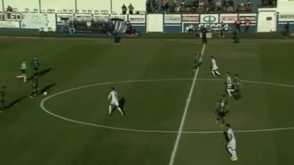 El gol de Braian Miranda a las 16.09
