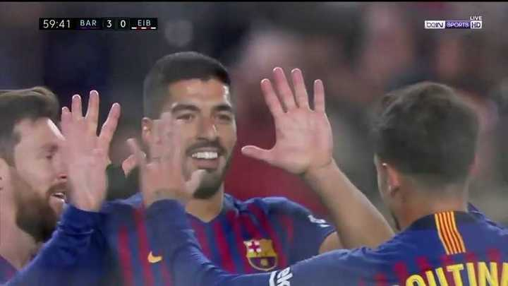 Suárez selló el encuentro