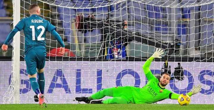 Rebic marcó el 2 a 1 del Milan