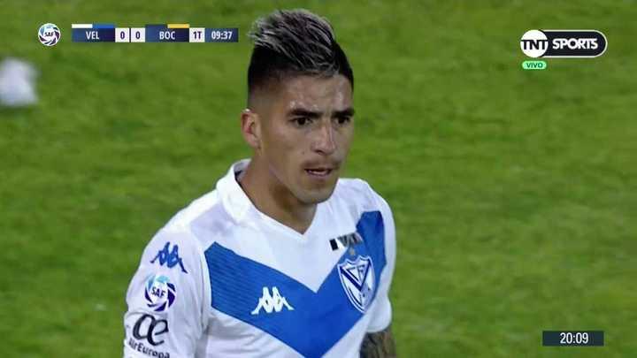 El reclamo de Fernández al árbitro