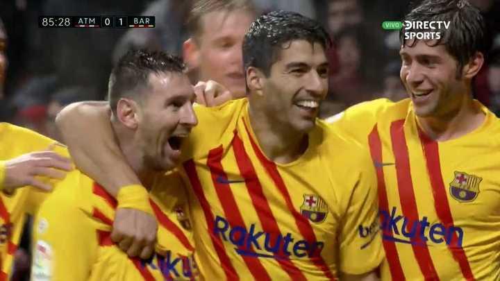 Golazo de Messi