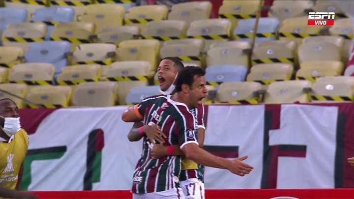 Fluminense lo empató con gol de Fred
