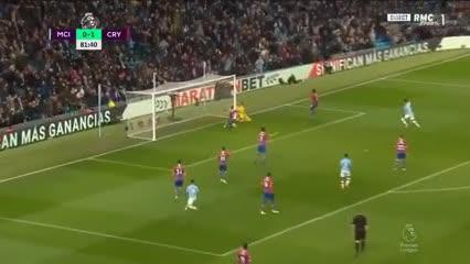El empate del Kun Agüero ante Crystal Palace