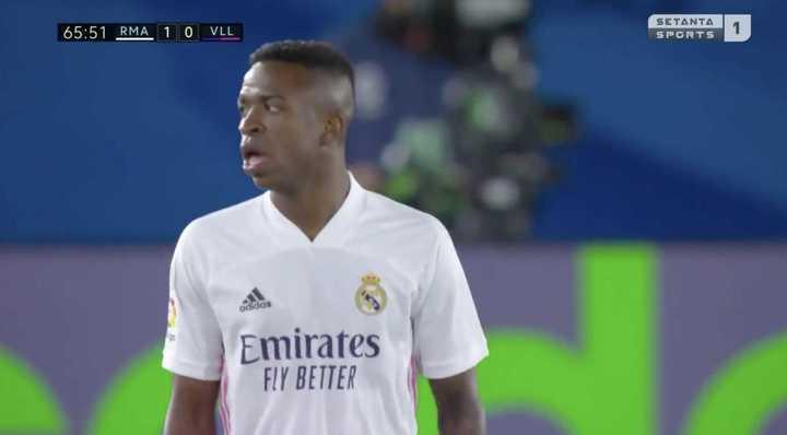 El Real Madrid ganó 1 a 0 con gol de Venícius