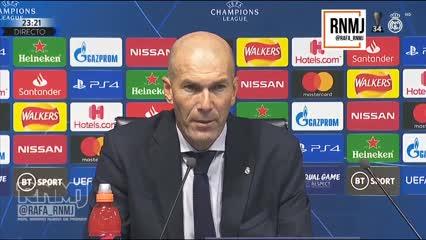 """Zidane: """"No podemos estar contentos"""""""