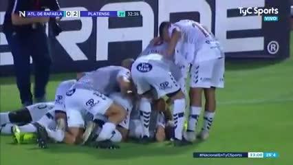 El 2-0 de Platense a A. Rafaela