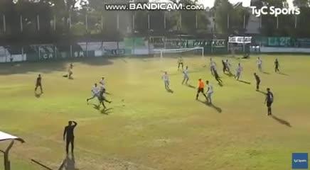 El 1-0 de San Miguel a JJ Urquiza
