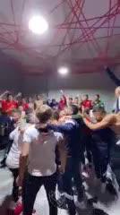El desahogo del vestuario de Independiente