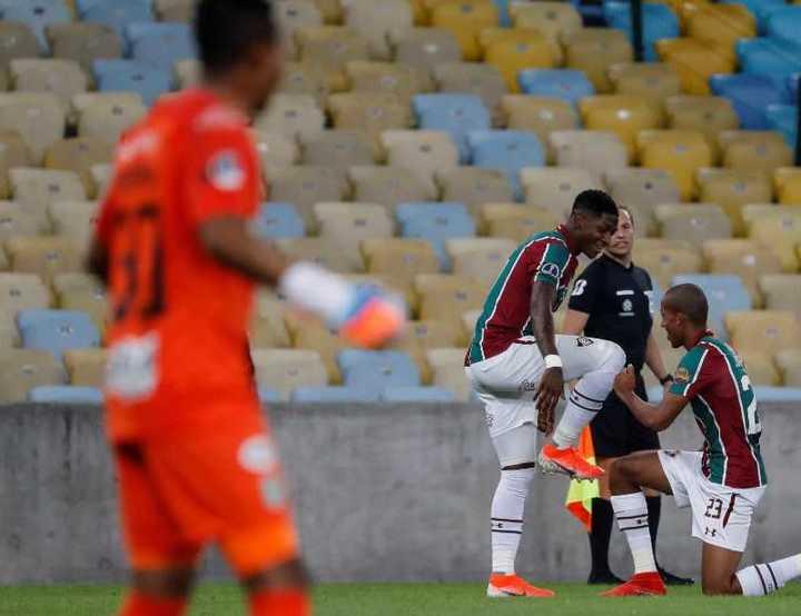 En Maracaná, Fluminense goleó 4-1 a Atlético Nacional de Medellín