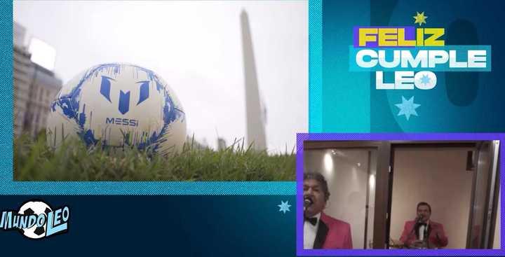 El video homenaje a Messi con Los Palmeras