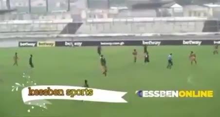 Los dos goles en contra en el fútbol de Ghana