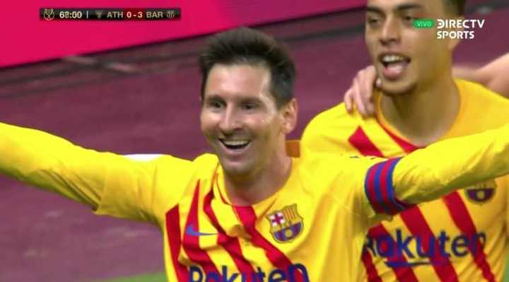 La victoria de Barcelona 4 a 0 en la final de la Copa del Rey