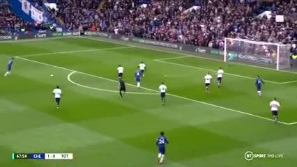 Marcos Alonso y su golazo para el Chelsea: 2-0 vs Tottenham