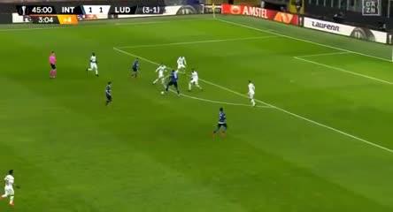El gol de Lukaku, con carambola y mucha suerte