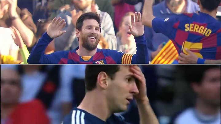 Messi: el gol que fue y el que no fue