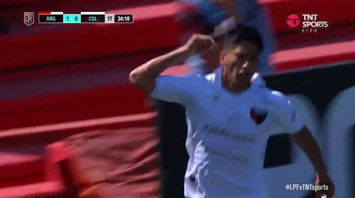Rodrigo Aliendro metió el empate ante Argentinos