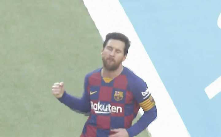 Apilada de Messi para el segundo frente a Eibar