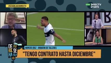 """Marcos Díaz: """"Tengo ganas de volver a Huracán"""""""