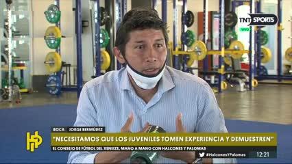 Bermúdez: Queremos que Miguel continúe todo el tiempo que pueda