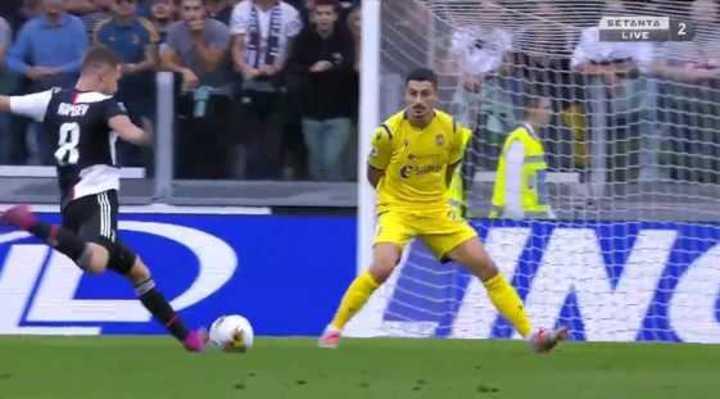 Ramsey lo empató para la Juve