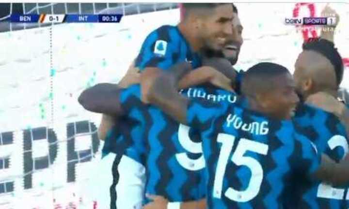 Lukaku necesitó apenas 28 segundos para hacer un gol