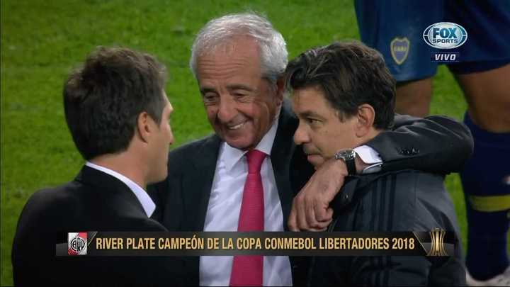 D'Onofrio y Gallardo felicitaron a Guillermo