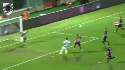 Gol de Maroni para la Sampdoria