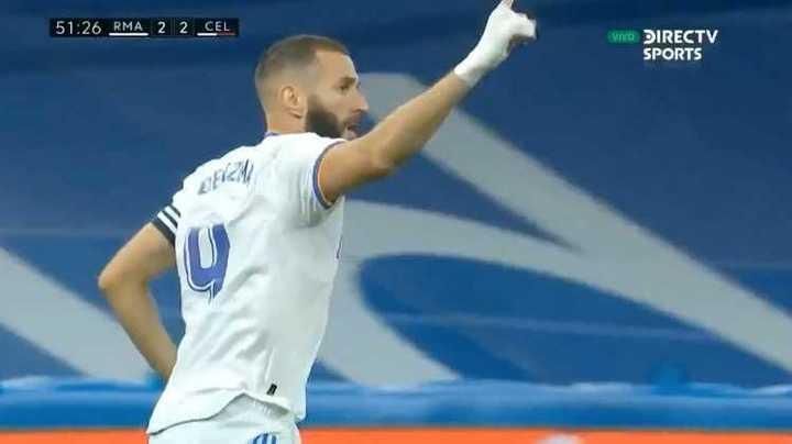 Real Madrid le ganó 5 a 2 al Celta