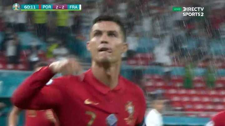 Ronaldo marcó el segundo de penal