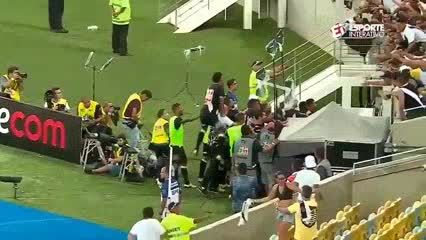 El gol del título para el Vasco