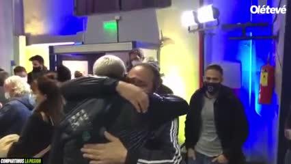 El llanto de Briasco tras firmar con Boca